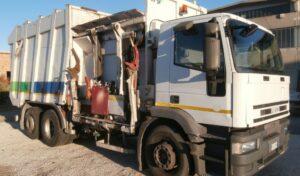 Camion Iveco rifiuti usato_manara camion bagnara di romagna ravenna