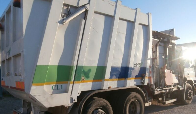 Compattatore rifiuti Iveco Eurotech 260E35 AMS usato completo
