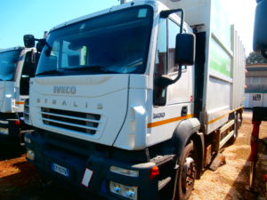 Compattatore Stralis 400 usato_manara camion bagnara di romagna ravenna