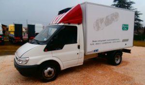Camion Ford 35 frigo usato_manara camion bagnara di romagna ravenna