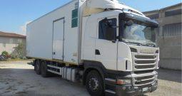 Camion Scania R400 frigo usato