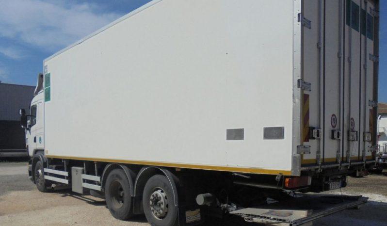Camion Scania R400 frigo usato completo